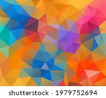 vector background from polygons ... | Shutterstock .eps vector #1979752694