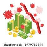 pandemic global economic crisis....   Shutterstock .eps vector #1979781944