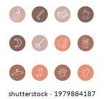 vector set of round highlights... | Shutterstock .eps vector #1979884187