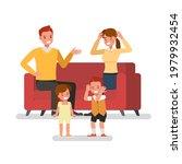 parents quarrel affect child... | Shutterstock .eps vector #1979932454