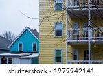 Colored Houses In Cambridge ...