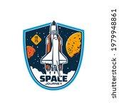 space shuttle on start  vector... | Shutterstock .eps vector #1979948861