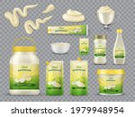 mayonnaise packaging realistic... | Shutterstock .eps vector #1979948954