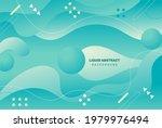 gradient liquid abstract...   Shutterstock .eps vector #1979976494