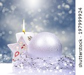 christmas background | Shutterstock . vector #197999924