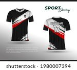 sports racing jersey design....   Shutterstock .eps vector #1980007394