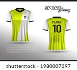 sports racing jersey design....   Shutterstock .eps vector #1980007397