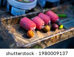 Fishing Bait Made From Boilies  ...