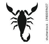 zodiac scorpio icon. simple...   Shutterstock .eps vector #1980059657