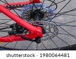 Rear Wheel Hub With Disk Brake...