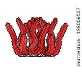 cartoon seaweed   Shutterstock .eps vector #198006527