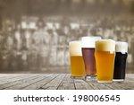 american craft beer | Shutterstock . vector #198006545