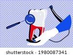Dentistry Service Banner In Pop ...