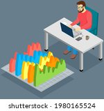 visualize with business... | Shutterstock .eps vector #1980165524