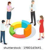 visualize with business... | Shutterstock .eps vector #1980165641