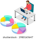 visualize with business... | Shutterstock .eps vector #1980165647