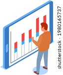 visualize with business... | Shutterstock .eps vector #1980165737