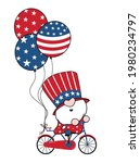 4th of july america gnome... | Shutterstock .eps vector #1980234797