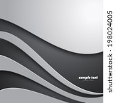 smooth curve lines modern... | Shutterstock .eps vector #198024005