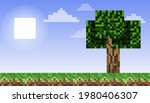 pixel background. the concept...