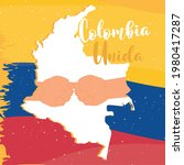 colombia unity peace hands...   Shutterstock .eps vector #1980417287