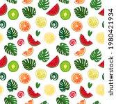 seamless texture of green... | Shutterstock .eps vector #1980421934