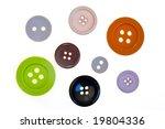 buttons | Shutterstock . vector #19804336