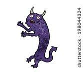cartoon devil | Shutterstock .eps vector #198044324