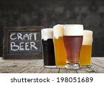 american craft beer | Shutterstock . vector #198051689
