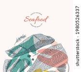 salmon fish illustration ...   Shutterstock .eps vector #1980526337