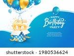 celebrating 65th years birthday ...   Shutterstock .eps vector #1980536624