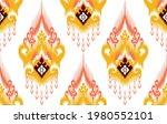 ikat tribal indian seamless...   Shutterstock .eps vector #1980552101