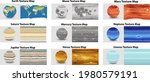 set of different planet texture ... | Shutterstock .eps vector #1980579191