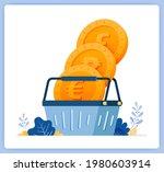 vector illustration of buy and... | Shutterstock .eps vector #1980603914