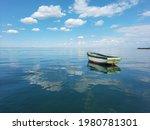 An Old Fishing Boat Off The...