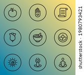 relax icons line style set with ... | Shutterstock .eps vector #1980793421
