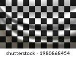 waving racing checkered flag... | Shutterstock .eps vector #1980868454