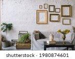 Bohemian Styled Living Room...