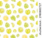 seamless texture of green... | Shutterstock .eps vector #1980883727