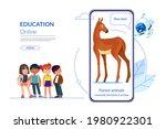 homeschooling. children learn...   Shutterstock .eps vector #1980922301