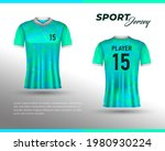 football jersey design. front...   Shutterstock .eps vector #1980930224