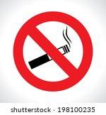 advert design over white... | Shutterstock .eps vector #198100235