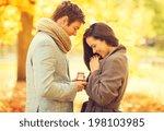 holidays  love  couple ... | Shutterstock . vector #198103985