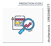 retail predictive analytics... | Shutterstock .eps vector #1981048577