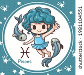 cartoon character illustration  ... | Shutterstock .eps vector #1981104551