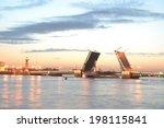 palace bridge at dawn  st... | Shutterstock . vector #198115841