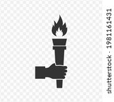 transparent torch icon png ...
