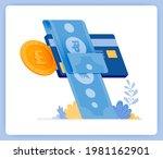 vector illustration of instant... | Shutterstock .eps vector #1981162901