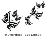 butterfly | Shutterstock .eps vector #198128639