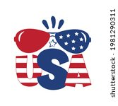 usa   happy independence day ... | Shutterstock .eps vector #1981290311